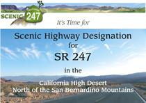 Scenic Highway 247 Designation